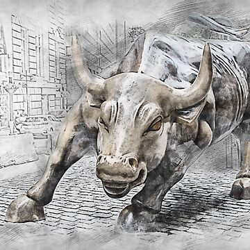 Wall Street Bull by AAAlves