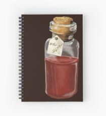 Elixir of Life potion Spiral Notebook