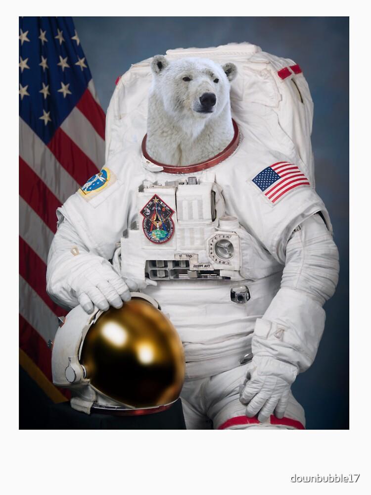 Polar Bear Astronaut by downbubble17