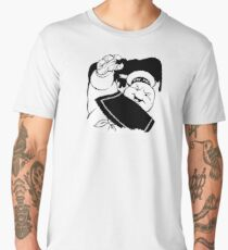 STAY PUFT ATTACK - 0293 Men's Premium T-Shirt