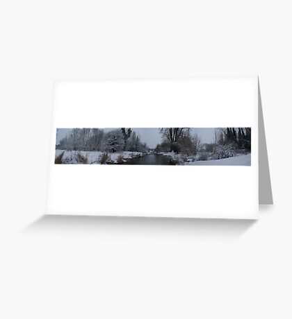 Snowy River 1.JPG Greeting Card