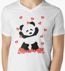 HAPPY VALENTINE Men's V-Neck T-Shirt