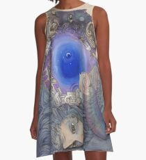 The Metaphysical Head A-Line Dress
