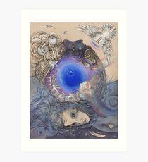 The Metaphysical Head Art Print