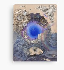The Metaphysical Head Canvas Print