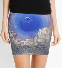 The Metaphysical Head Mini Skirt