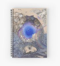 The Metaphysical Head Spiral Notebook