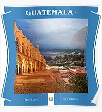 Guatemala - Das Land der Wälder Poster