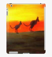 Roos @ Sunset, Australia.  iPad Case/Skin