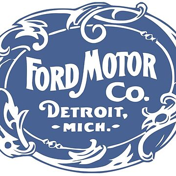 Classic Ford Motor Co. by nick9219
