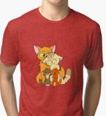 Firestar's happy family Tri-blend T-Shirt