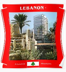 Libanon - Ein Land der Berge Poster