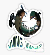 CAC Wirraway Wing Warp T-shirt Design Sticker