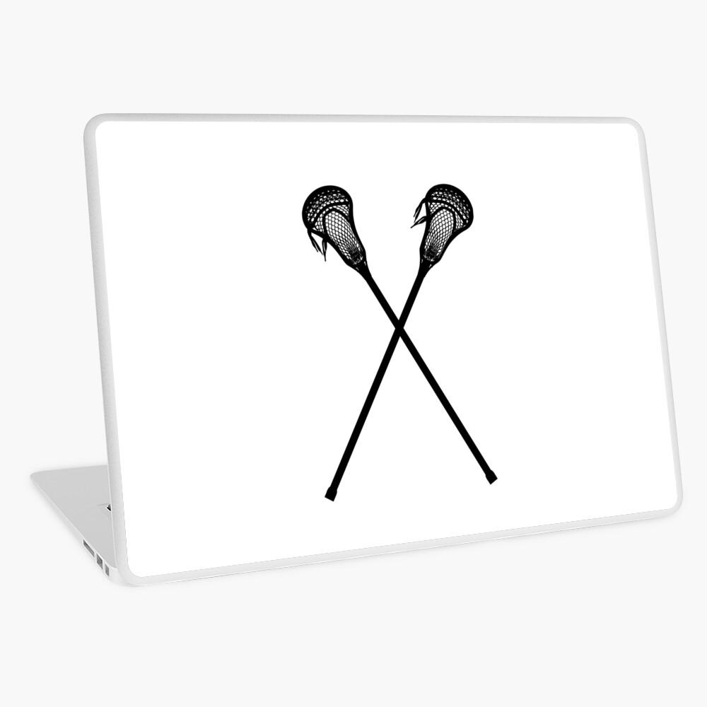 Lacrosse-Stöcke Laptop Folie