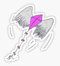 You are the Wind beneath my Wings Sticker