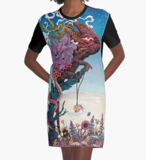 Phantasmagoria II Graphic T-Shirt Dress