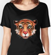 Cute Adorable Tiger Women's Relaxed Fit T-Shirt
