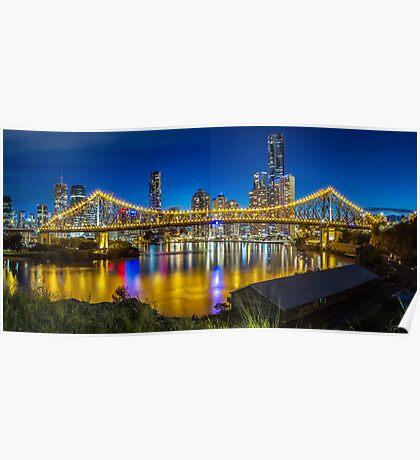 Story Bridge- Brisbane Queensland Poster