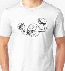 Rage Face Geodude Unisex T-Shirt