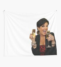 Kris Jenner Funny Wall Tapestry
