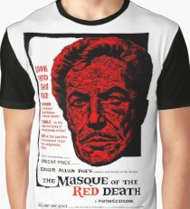 The Masque of the Red Death Graphic T-Shirt