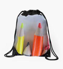 Colored Pencil Tips   Drawstring Bag