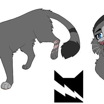 Cinderpelt sticker set by deepfriedmeme