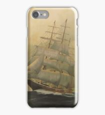 'Before the Storm'!, Tall Ship. Oil on Canvas.  iPhone Case/Skin