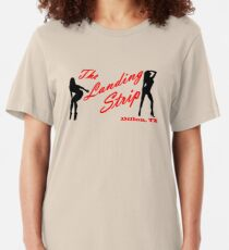 The Landing Strip - Friday Night Lights Slim Fit T-Shirt