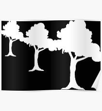 Trees are Green Poster