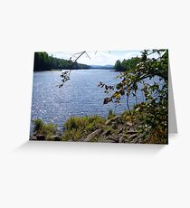 Madawaska River Greeting Card