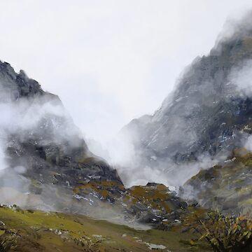 Nameless Mountains by Vielmond