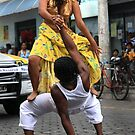Dancing in the Street by Sue  Cullumber