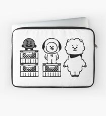 "BT21 - "" Who's taller? "" // Shooky & Chimmy & RJ Laptop Sleeve"