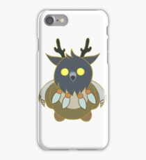 Worgen Boomkin with Light Lines iPhone Case/Skin
