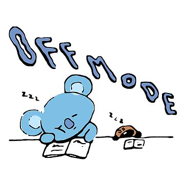 """BT21 - """" Off Mode ~ Zzz """" // Koya & Shooky by Red-One48"""