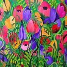 Summer Garden by marlene veronique holdsworth