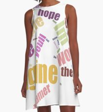 Conceived A-Line Dress