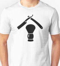 Shaving razor brush Unisex T-Shirt