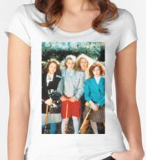 Heathers Women's Fitted Scoop T-Shirt