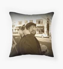 Two Freedom Loving Beings   Throw Pillow