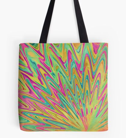 Abstract Newborn Star Tote Bag