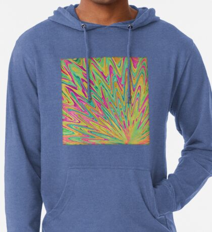 Abstract Newborn Star Lightweight Hoodie
