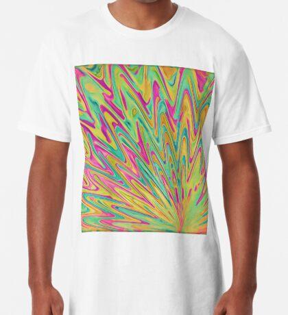 Abstract Newborn Star Long T-Shirt