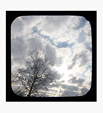 Clouds TTV Photographic Print