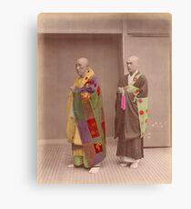 Japanese Buddhist Priests Canvas Print