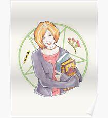 Watercolour Fanart Illustration of Willow Rosenberg from Joss Whedon's Buffy The Vampire Slayer Poster