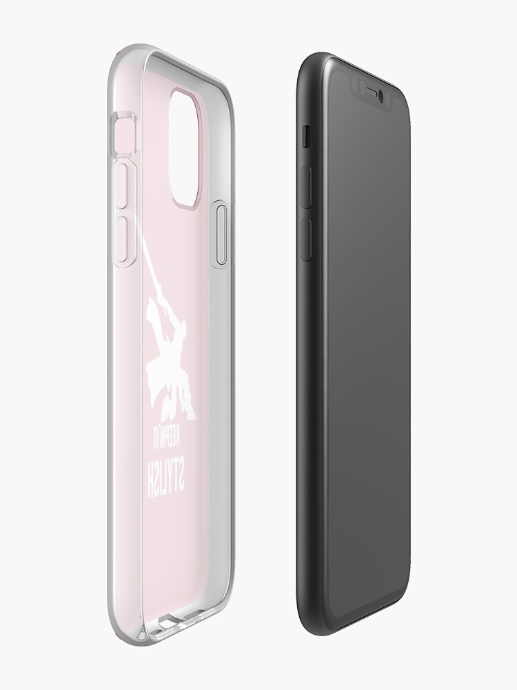 coque iphone 11 ebay - Coque iPhone « Keepin 'It élégant », par SencilSketches