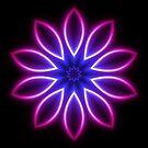 Purple Glow Pattern by fantasytripp