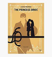 No877 My The princess bride minimal movie poster Photographic Print